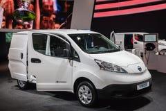 De Elektrische Chassis van NISSAN e-NV200 Stock Fotografie