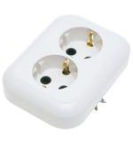 De elektrische contactdoos. Stock Afbeelding