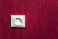 De elektrische contactdoos stock afbeelding