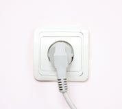 De elektrische contactdoos Stock Foto's