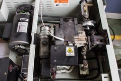 De elektrische het vastbinden machine en verpakkingsmachine Royalty-vrije Stock Foto