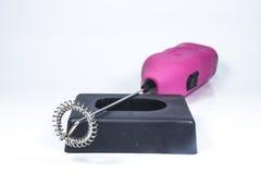 De elektrische mixer van de handdrank Royalty-vrije Stock Foto's