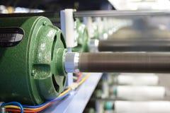 De elektrische motor van de spoel royalty-vrije stock afbeeldingen