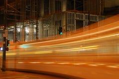 De Elektrische Trein van de hoge snelheid stock foto's