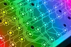 De elektronikaregeling van de computer royalty-vrije stock afbeeldingen