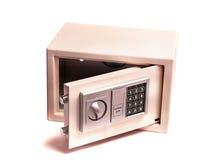 De elektronische brandkast van het huis of van het bureau Stock Afbeeldingen