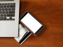 De elektronische handel van de informatiebeveiligingsgegevensbescherming Royalty-vrije Stock Afbeelding