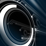 De elektronische kring Stock Foto's