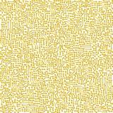 De elektronische vector gouden textuur van de kringsraad Royalty-vrije Stock Afbeelding
