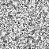 De elektronische vectorachtergrond van de kringsraad Stock Fotografie