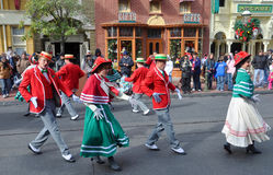 De ElektroParade van de hoofdstraat in Disney Orlando Royalty-vrije Stock Foto's