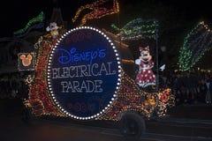 De Elektroparade van Disney, Mini Mouse, Magisch Koninkrijk royalty-vrije stock fotografie