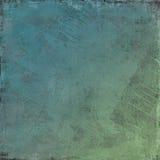 De elementaire oceaangolven van het water - Grungy achtergrond Stock Afbeelding