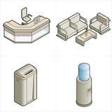 De Elementen p.17a van het ontwerp royalty-vrije illustratie