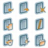 De Elementen p.25a van het ontwerp stock illustratie