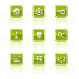De Elementen p.42e van het ontwerp Stock Foto