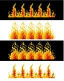 De Elementen van de brand Royalty-vrije Stock Foto