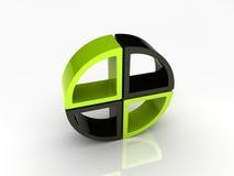 De elementen van de cirkel Stock Afbeelding