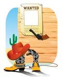 De elementen van de cowboy. Het leven van het westen Royalty-vrije Illustratie