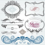 De Elementen van de decoratie Royalty-vrije Stock Foto