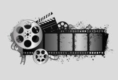 De elementen van de film Royalty-vrije Stock Afbeelding