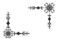 De elementen van de hoek royalty-vrije illustratie