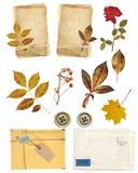 De elementen van de inzameling voor het scrapbooking Royalty-vrije Stock Foto