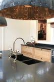 De elementen van de keuken van decor Stock Afbeeldingen