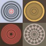 De elementen van de optische illusie Royalty-vrije Stock Fotografie