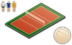 De Elementen van Esign 48e. Sport-gebied vector illustratie