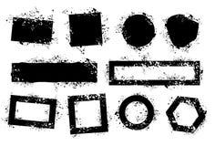De elementen van Grunge Stock Foto