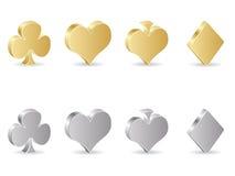 De elementen van het casino Royalty-vrije Stock Foto's