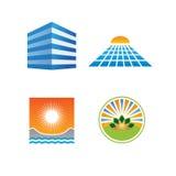 De elementen van het ontwerp Stock Afbeeldingen