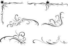 De elementen van het ontwerp. Royalty-vrije Stock Foto's