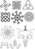 De elementen van het ontwerp stock illustratie