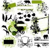 De elementen van het ontwerp Royalty-vrije Stock Fotografie