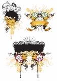 De elementen van het ontwerp Royalty-vrije Stock Foto's