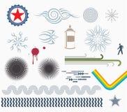 De Elementen van het ontwerp vector illustratie