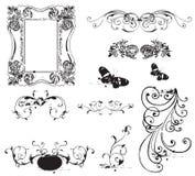 De elementen van het ontwerp Stock Foto