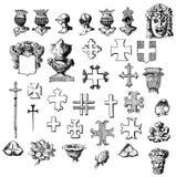 De elementen van het ontwerp reeks vector illustratie