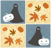 De Elementen van het Ontwerp van Halloween Royalty-vrije Stock Foto's