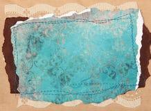 De Elementen van het Ontwerp van het plakboek - Wijnoogst Royalty-vrije Stock Afbeelding