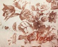 De Elementen van het Ontwerp van het plakboek - Wijnoogst Stock Foto