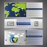 De Elementen van het Ontwerp van het Web Stock Afbeeldingen