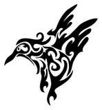 De elementen van het ontwerp: vogel Stock Afbeeldingen