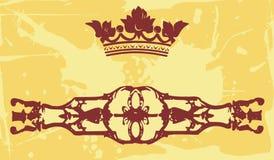 De elementen van het smeedijzer Royalty-vrije Stock Afbeeldingen