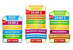 De elementen van het Web Royalty-vrije Stock Foto