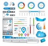 De elementen van Infographic - de Reeks van de Kwaliteit Royalty-vrije Stock Afbeeldingen