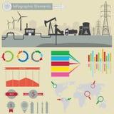 De elementen van Infographic Royalty-vrije Stock Foto