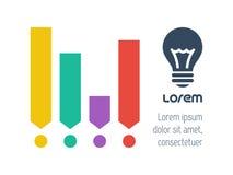De elementen van Infographic van de technologie stock illustratie